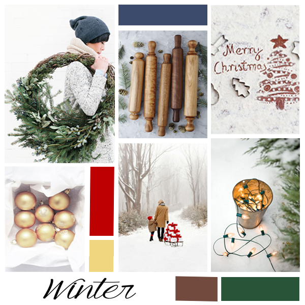 December Moodboard | The Kardia Blog