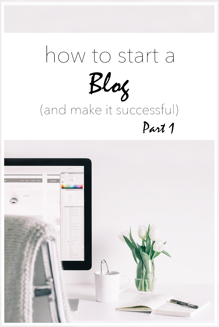 Start a blog the right way. In this post, we'll cover how to create a focus, determine a name, create a vision board, and purchase a domain. #blog #blogging