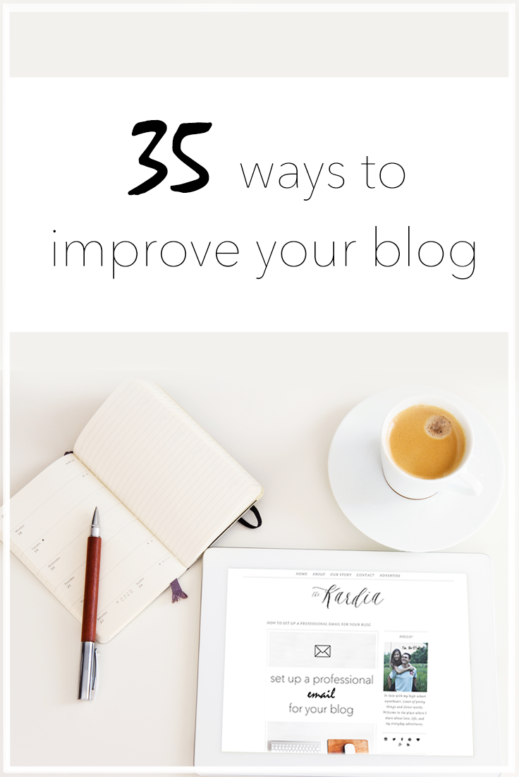 Keep your blog up to date and improve your reach! #blogtips