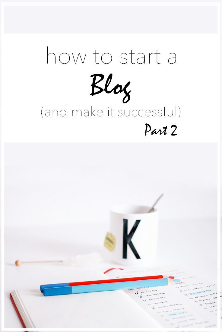 Start a blog the right way. In this post, we'll cover what platform to use, decide whether to use a template or not, and learn how to create community and promote your posts. #blog #blogging