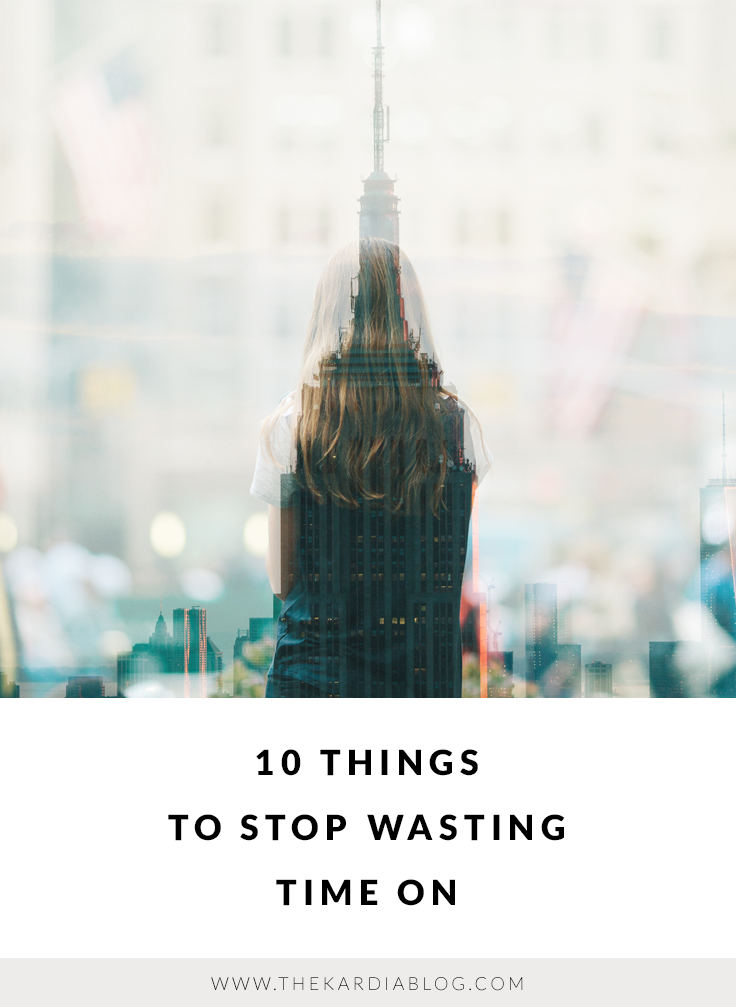 Stop wasting time on things that don't matter.
