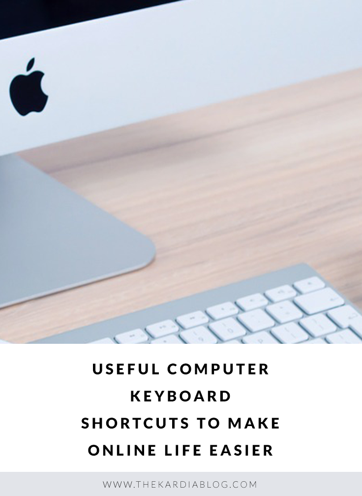 Become a pro at productivity! Keyboard shortcuts every college student, blogger, and business professional should know.