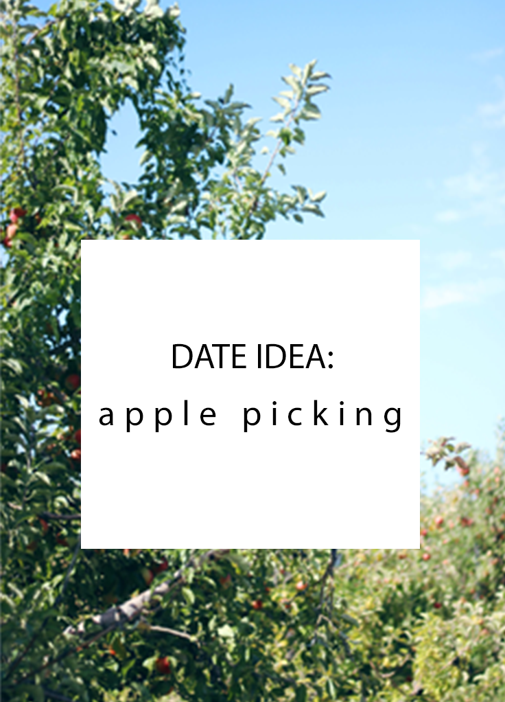 Fun fall date idea: Apple picking