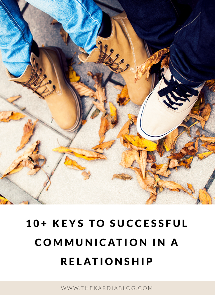 Because I believe that you can be in a healthy relationship and still not fight with each other, I've listed my top suggestions when it comes to having successful communication in a relationship.