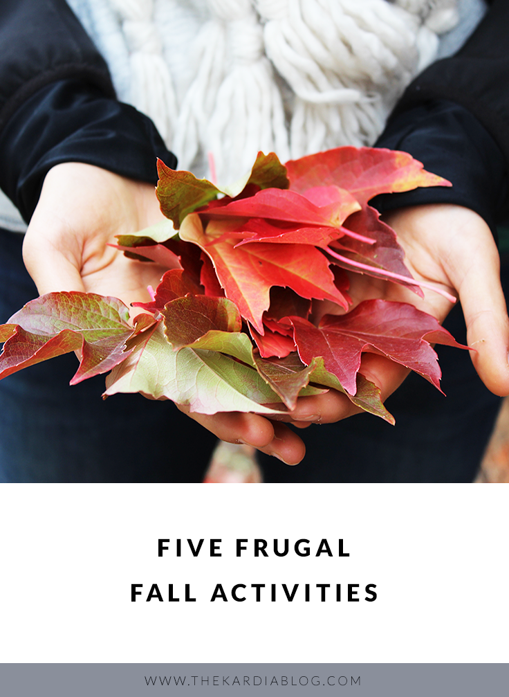Needing to save money for the holiday season? Make the most of the rest of your fall bucket list by enjoying these five frugal fall activities!
