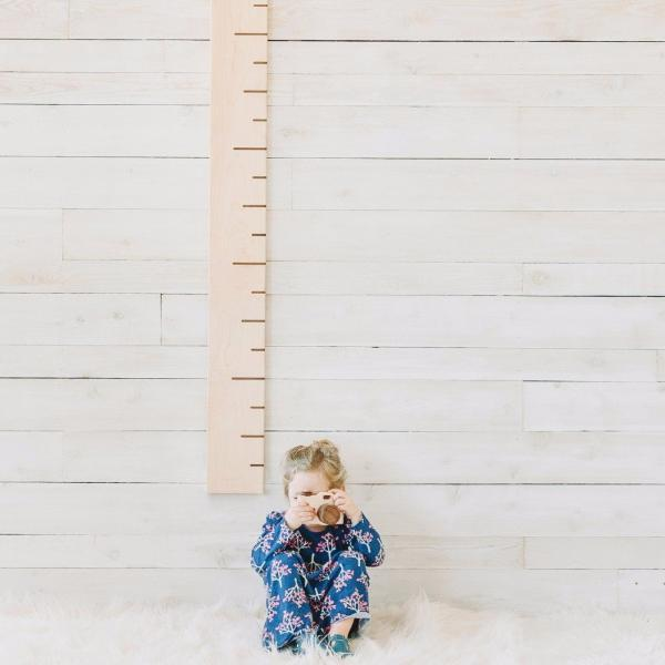 6' Maple Growth Chart Ruler