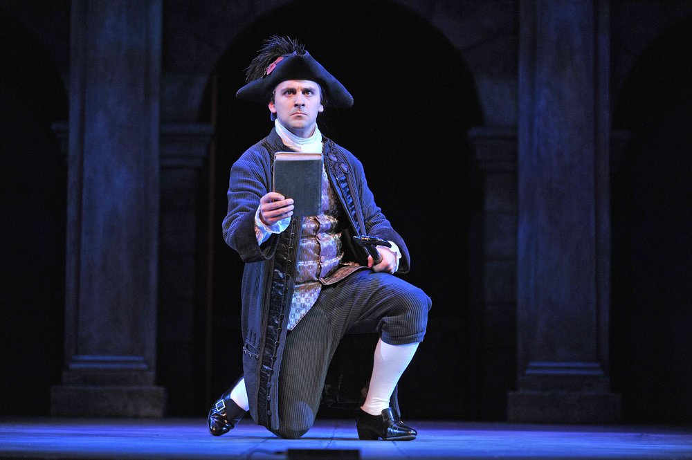 Don Ottavio in Don Giovanni; credit-Peter Smith Photography