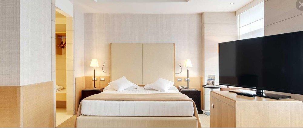 Rome Hotel bedroom Jpg.JPG