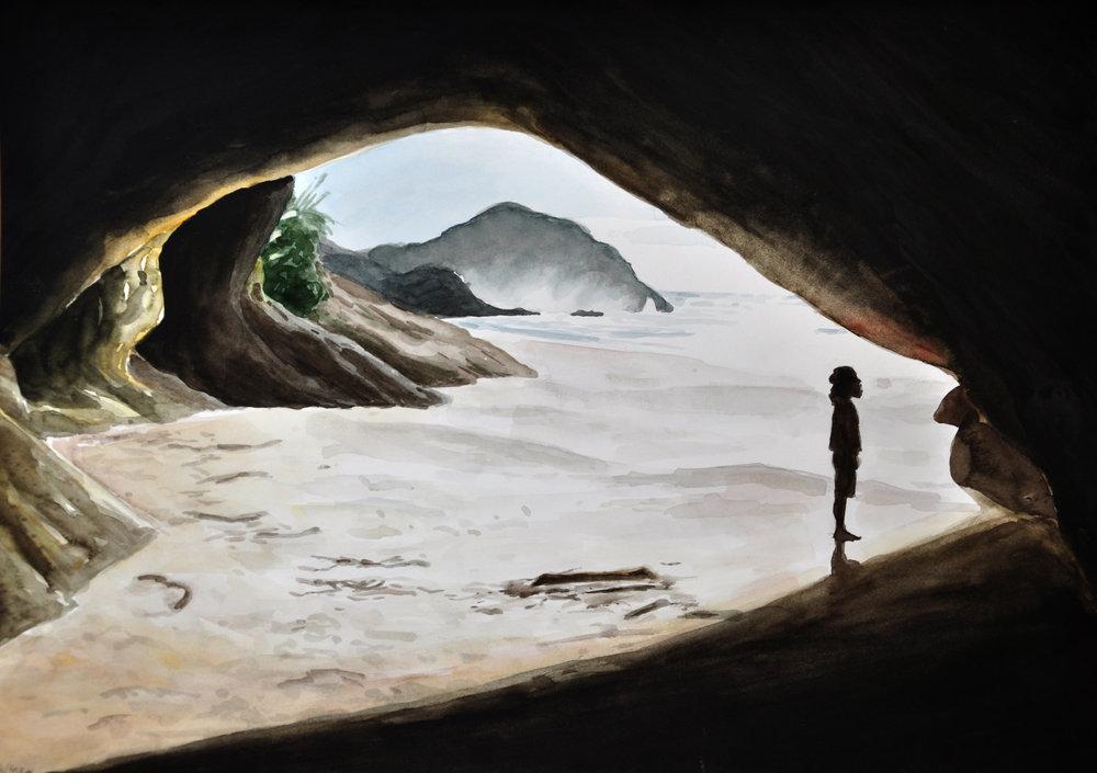 Wharariki Cave