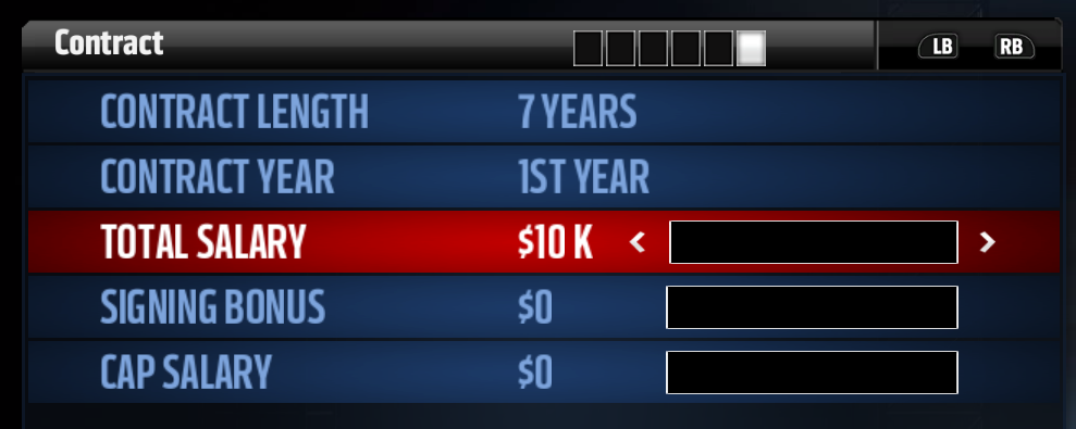 The new and improved editing interface in Madden 17