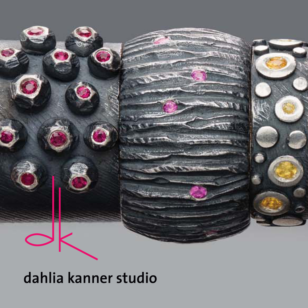 Website and Graphic design for Dahlia Kanner Studio by Chris and Andy | chrisandandydesign.com