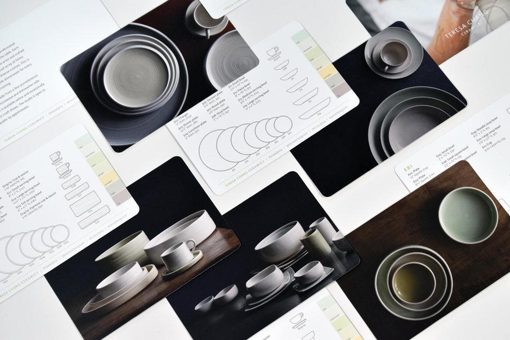 Design dor downloadable catalog for Dahlia Kanner Studio   Design by  ChrisAndAndy.com