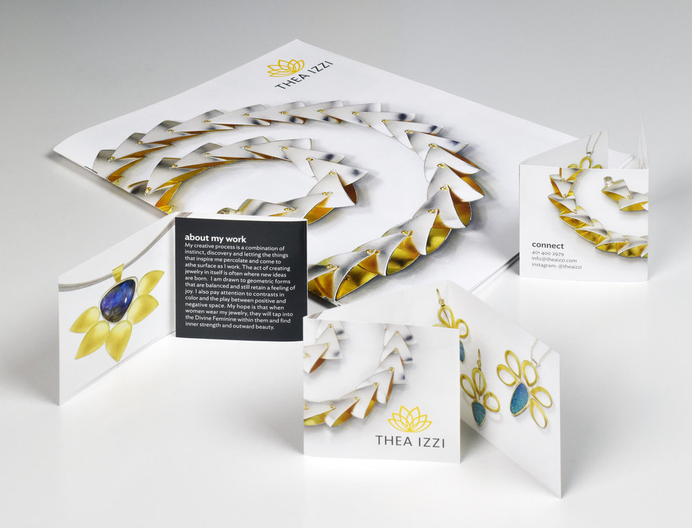 Design dor downloadable catalog for Dahlia Kanner Studio | Design by  ChrisAndAndy.com