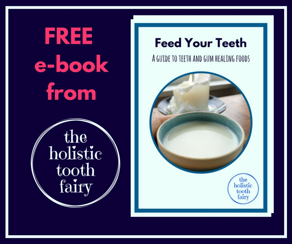 Download your free e-book and find out what else to eat for healthy teeth and gums. It's not just liver!
