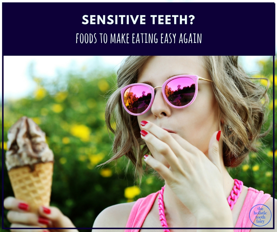 Foods to relieve sensitive teeth, toothache and cure tooth decay.