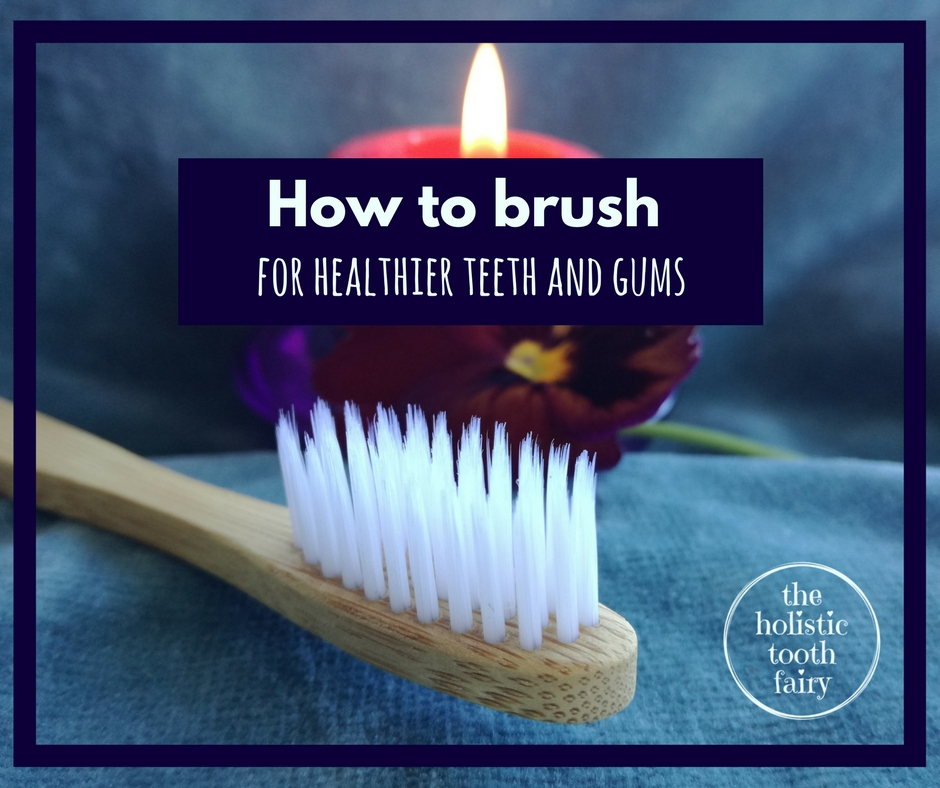Tooth brushing for healthier teeth and gums