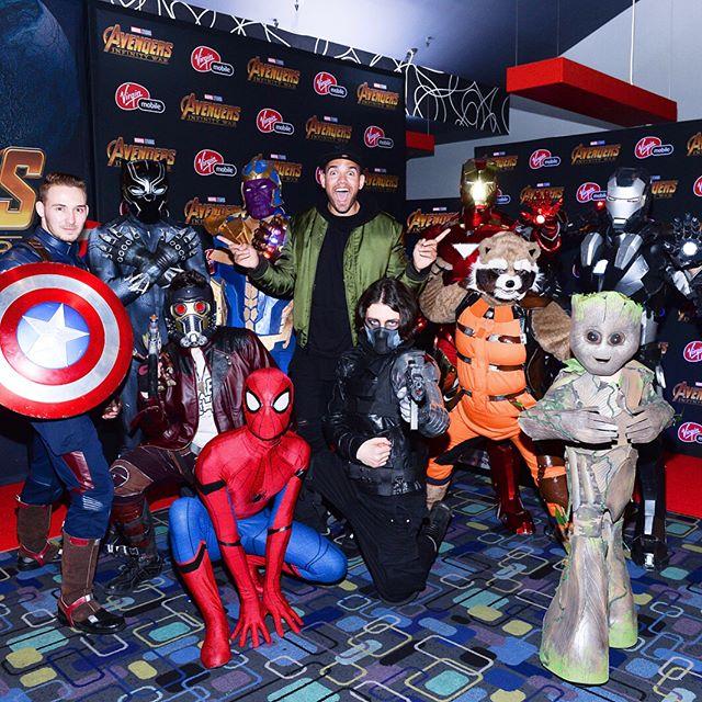 PR: You want a picture?? 📸  ME: play it cool, play it cool  ALSO ME: excited af 🙋🏽♂️🙋🏽♂️🙋🏽♂️ . . . . #membersgetit #virginmobilecanada  #vmambassador #avengersxcanada #avengersinfinitywar #avengers #marvel #marvelstudios #marvelcomics #guardiansofthegalaxy #groot #captainamerica #ironman #spiderman #blackpanther #wakandaforever #wakanda