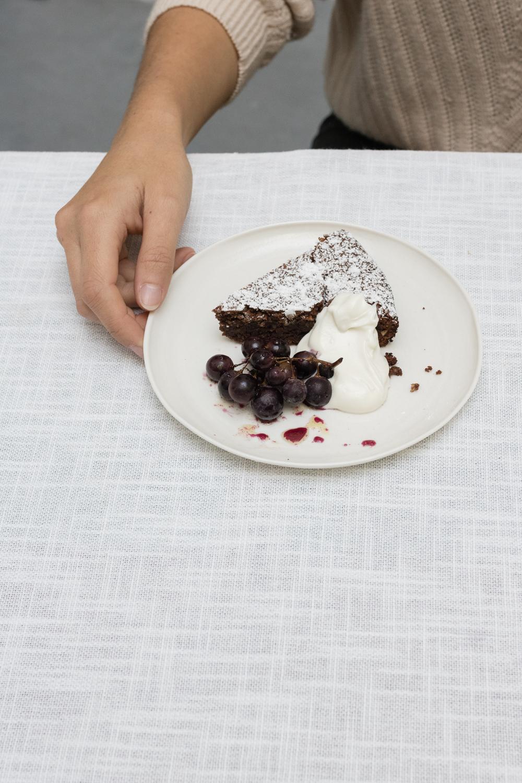 torta caprese by Emiko Davis