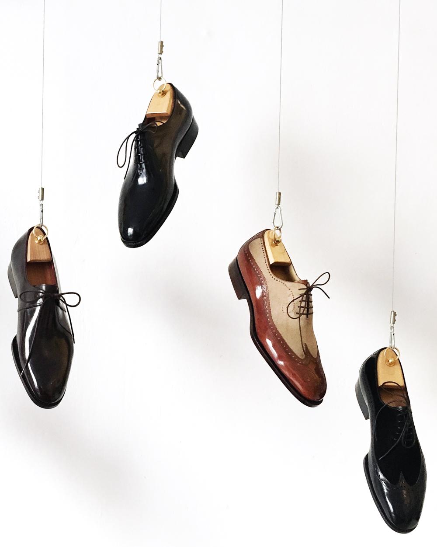 bespoke shoeware by Vivian Saskia Wittmer