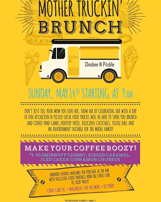 Looking for something new and fun ...Come Brunch with me on Mother's Day !!