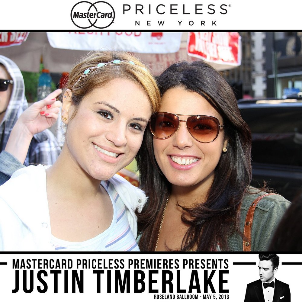 Justin Timberlake Priceless Surprises