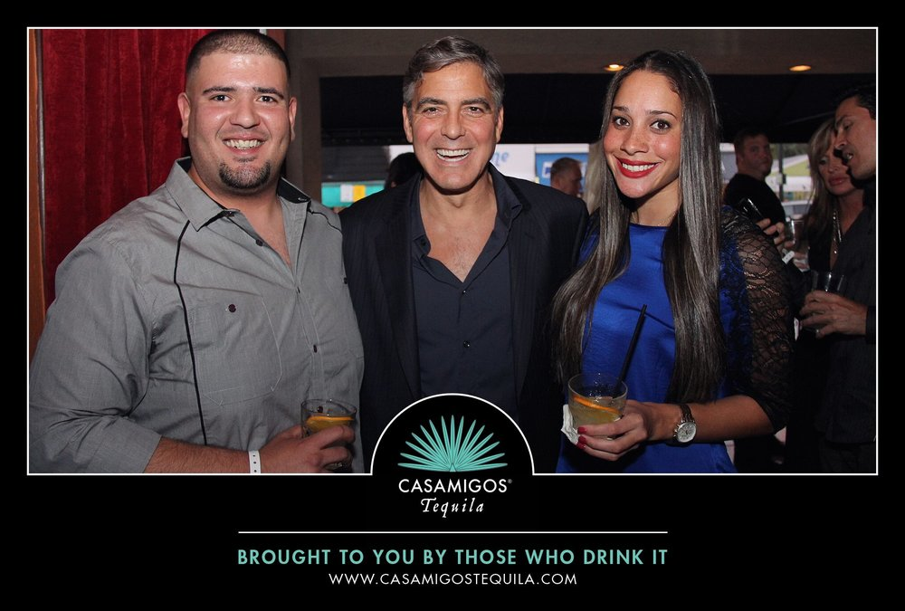 Unique Photo Experiences, Meet and Greet, George Clooney, Casamigos Tequila