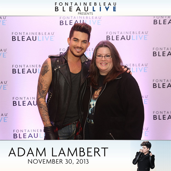 Adam Lambert Meet and Greet