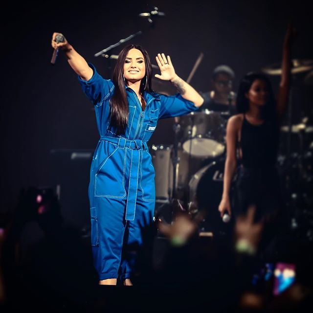 Had a great time covering 2 #demilovato #concert in #Dallas #Texas and #nyc #newyork crowd was loving every minute of it.