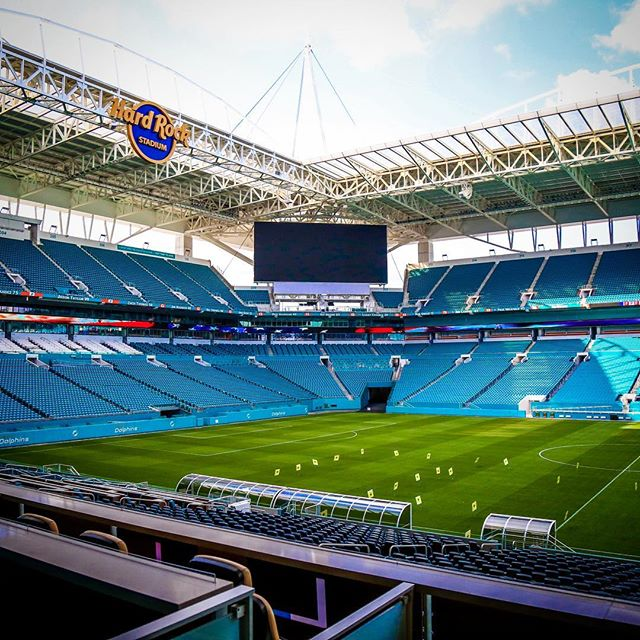 #love the #renovations to #hardrockstadium #miami #florida #nfl #football #miamidolphins