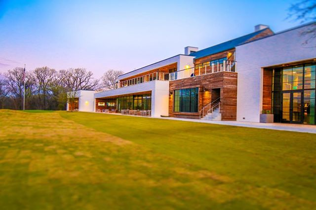 #beautiful new #clubhouse at #trinityforestgolfclub in #Dallas #Texas #pga new home of #byronnelson #golf #tournament