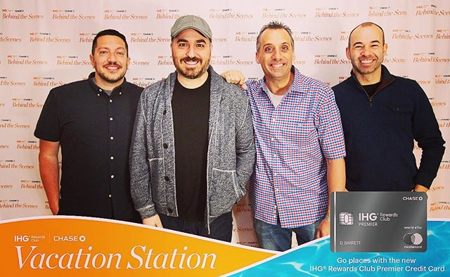 Great time in #NYC today with @thetenderloinsofficial @impracticaljokersofficial  @bqquinn @therealmurr @salvulcano @joe_gatto  @eventrancher  #impracticaljokers #comedy #photography #meetandgreet #stepandrepeat #NY #marketing #events #grandcentralstation