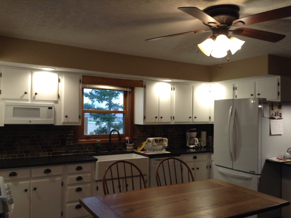 Refinished Farm style kitchen