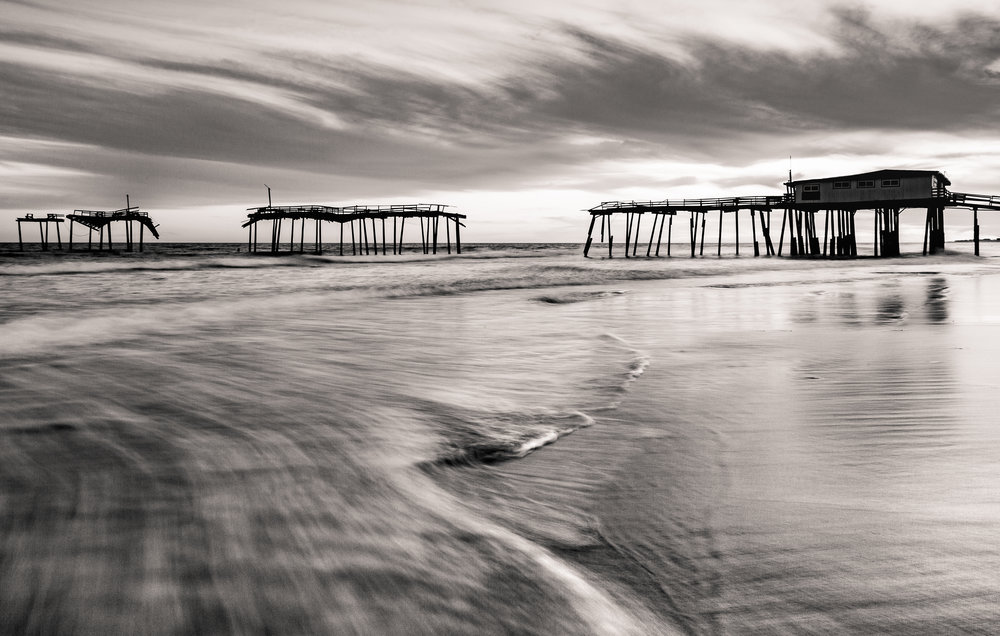 Frisco Pier, one of my other photographic obsessions