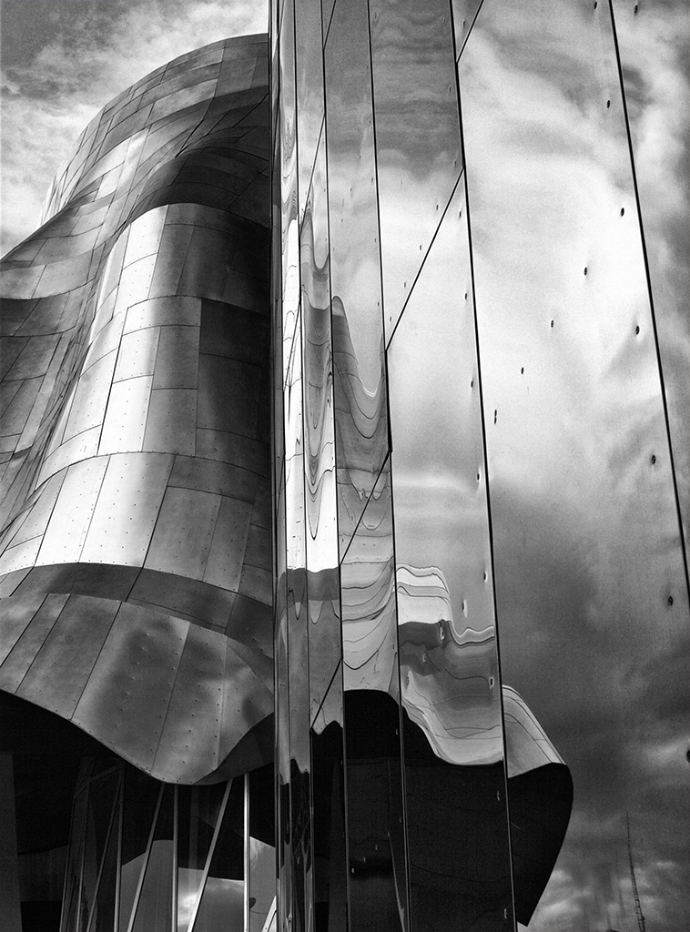 "Reflections at EMP-Seattle"" by Ann Nermoe"