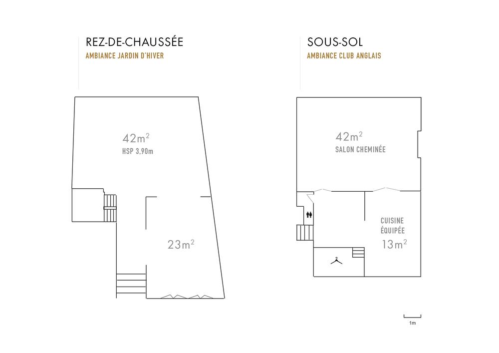 plans Villa Rose