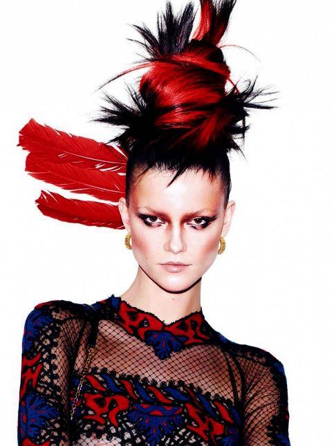 Vogue Fashion Shoot 2 Nicolas Jurnjack Hairstyles