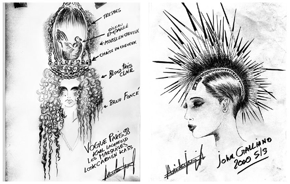 "Illustrations : Nicolas Jurnjack for ""In The Hair"""