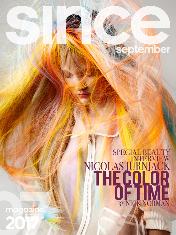Since Magazine - Interview Nicolas Jurnjack - Hairstylist 07 - The Color Of Time - Full Story on  http://www.sincemagazine.com