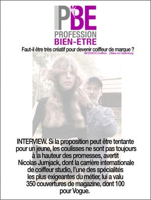 Interviews Press Nicolas Jurnjack Hairstyles