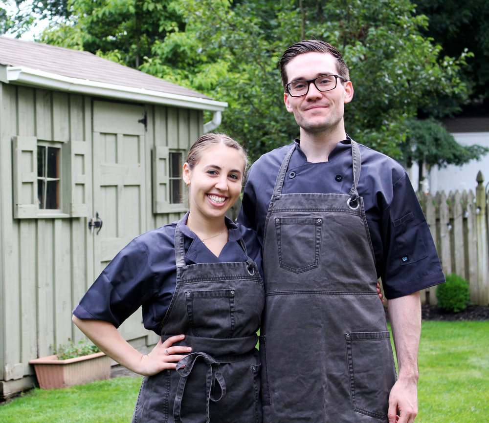 Daniel & Jess - chefs and owners