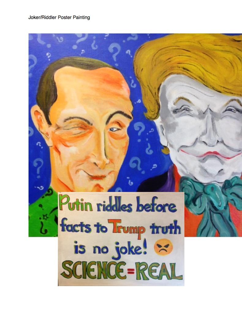 Joker/Riddler Poster