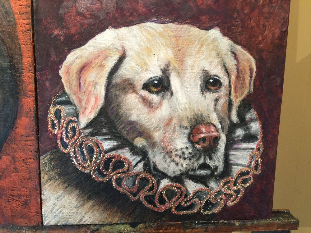 LuLu Dog with Collar