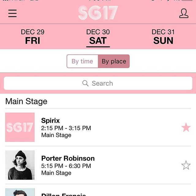 We see you @devain aka @spirixmusic. Congratulations on the first of many big festivals. We can't wait to watch you kill it at #SG17
