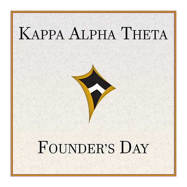 Happy Founder's Day to the amazing women of Kappa Alpha Theta! Recent accomplishments of the Eta Sigma Chapter here at Chapman include Outstanding Scholarship & Outstanding Community Service in 2017. Keep up the great work ladies! @chapmantheta
