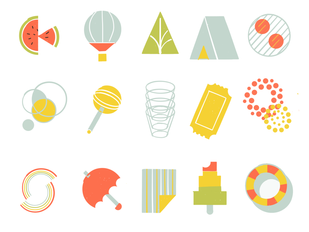 Summery Icons
