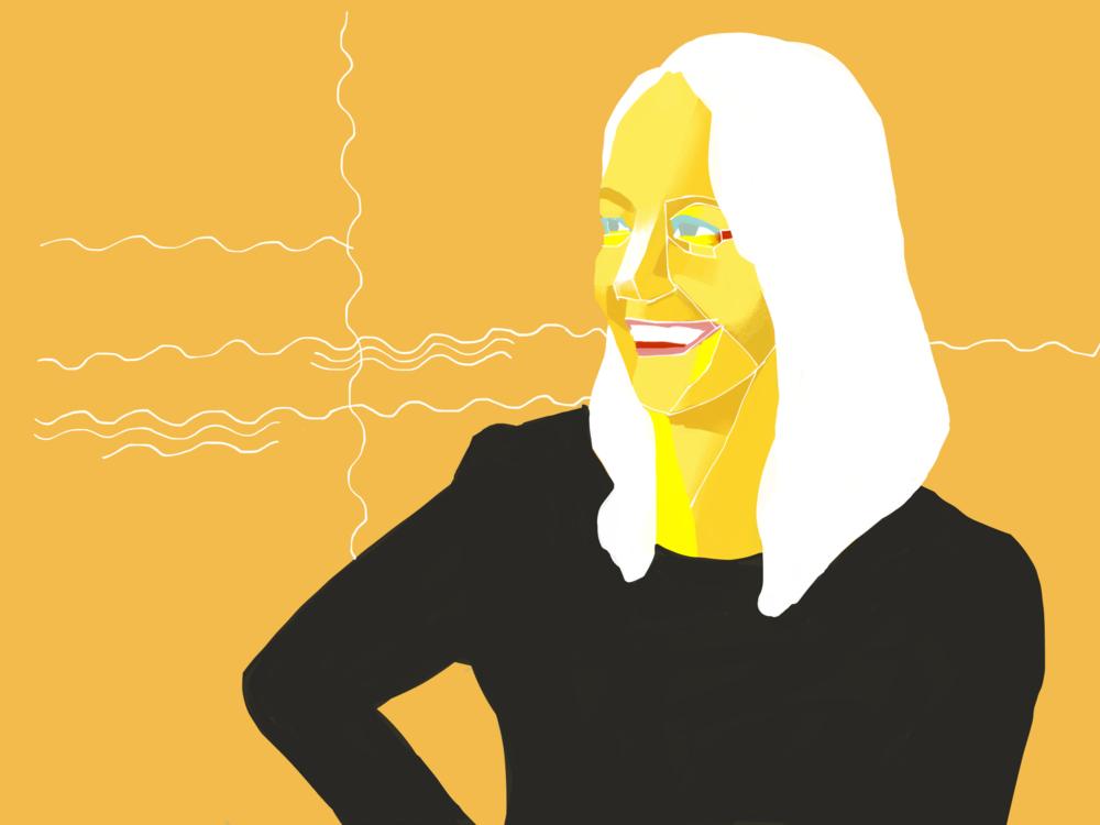 Paula Scher (Designer at Pentagram)