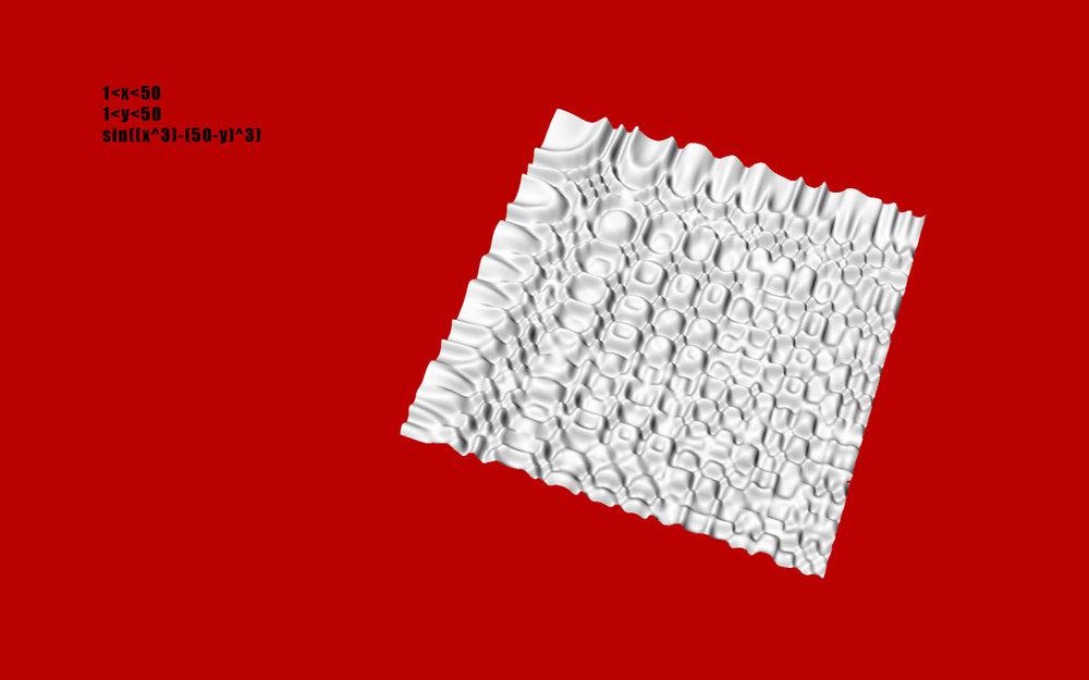 Algorithmic Surface Generation 4