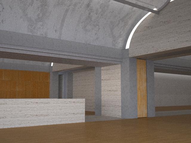 Light Modelling of Kimbell Art Museum 2