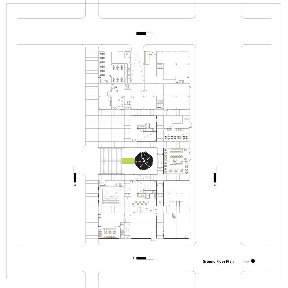 Density Studio_Ground Floor Plan