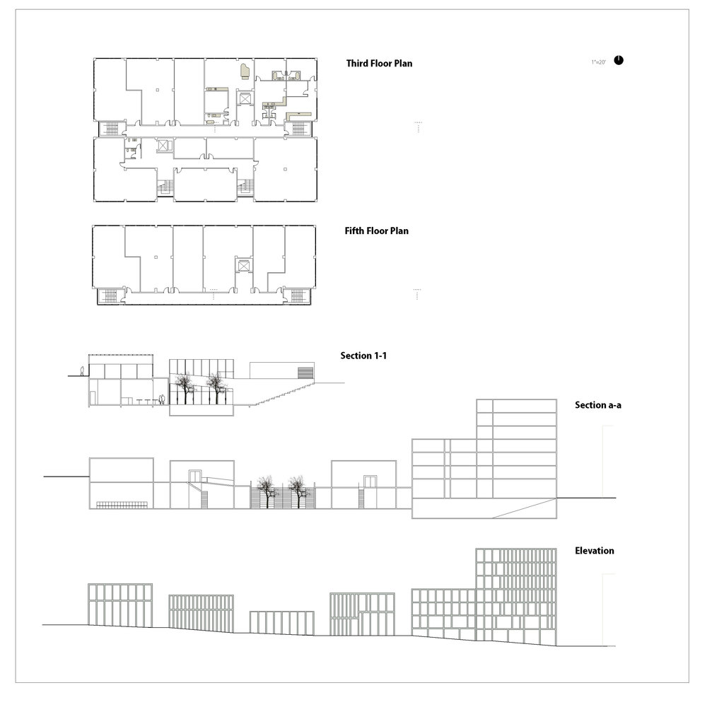 density_typical plan and sections